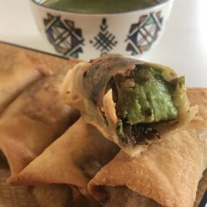 Avocado Egg Roll