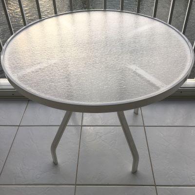 Alpha Line Acrylic Top Dining Tables Sun Amp Beach Patio