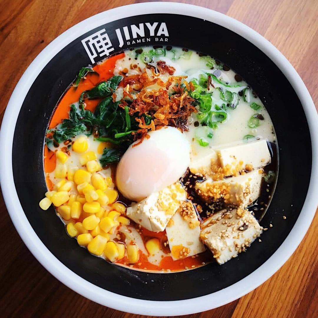ramen with corn and egg