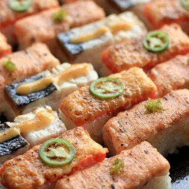 aburi sushi oshi