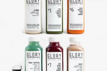 Gloryjuice cold pressed juice