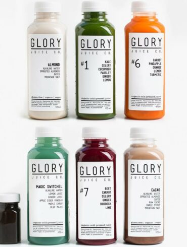 Gloryjuice cold pressed juice