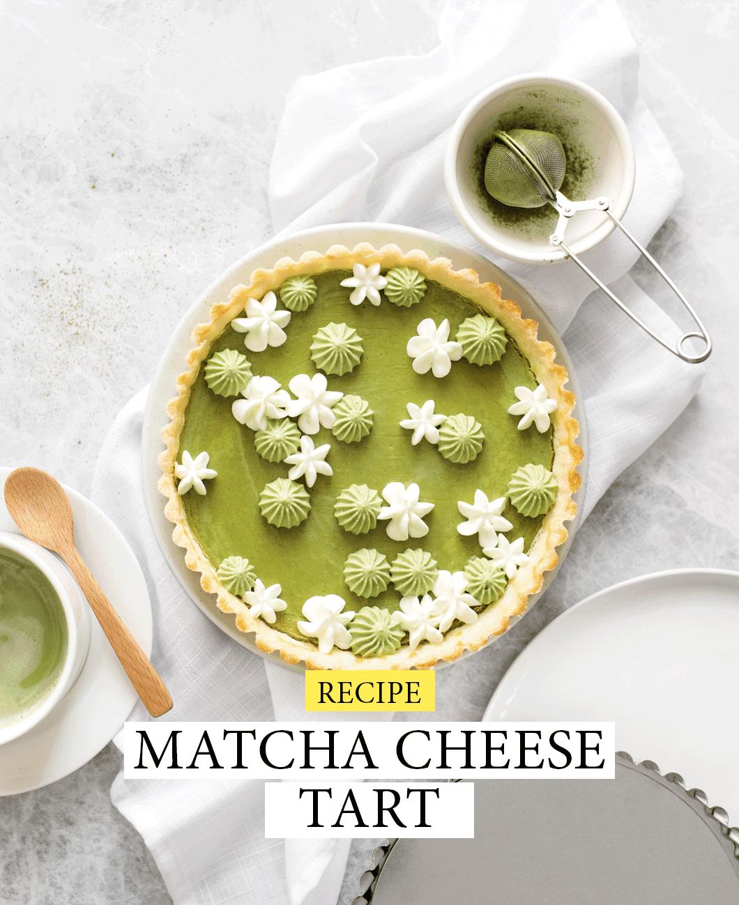 Matcha Cheese Tart cover 1 1