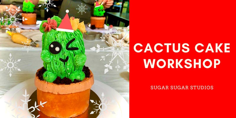 cactus cake workshop