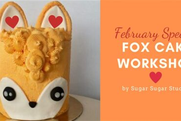 fox cake workshop