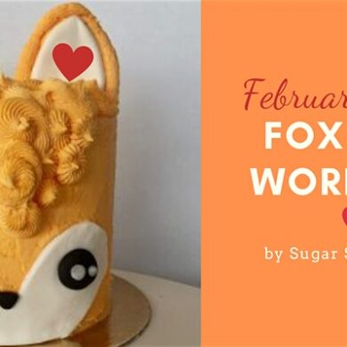 fox cake workshop