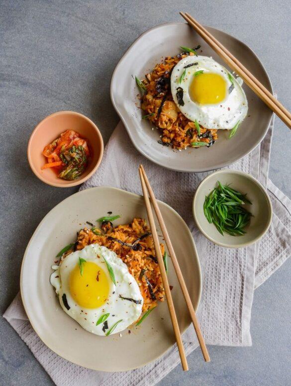 kimchi fried rice compressor