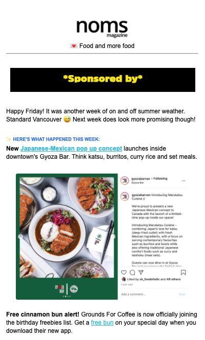 noms mag newsletter sponsor compressor