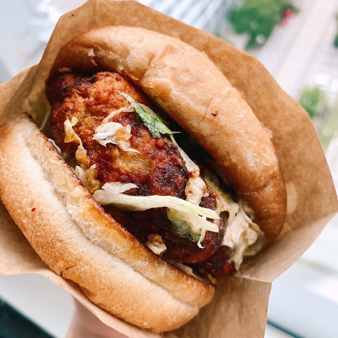 Beetbox vegan burger