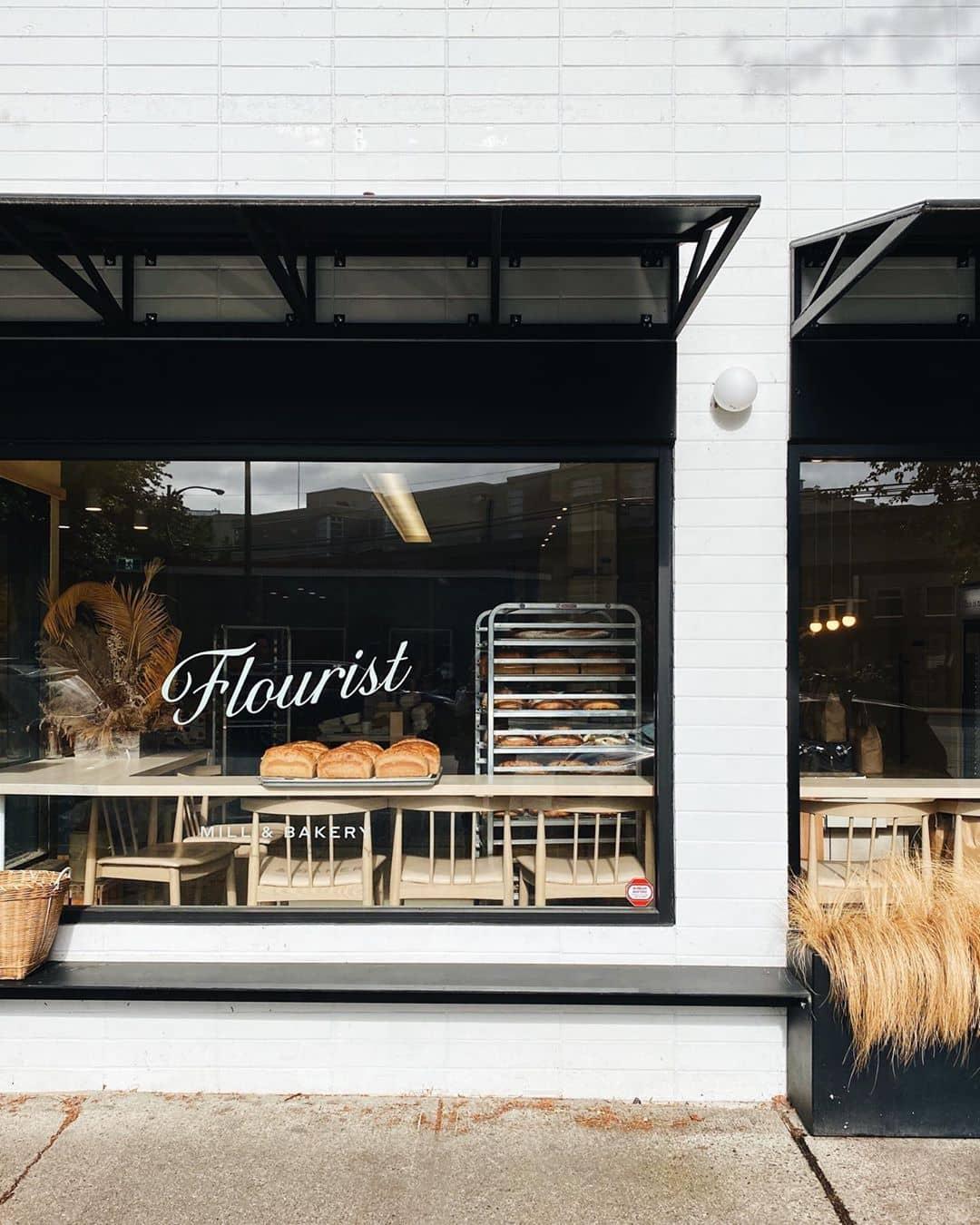 Exterior of Flourist Shop