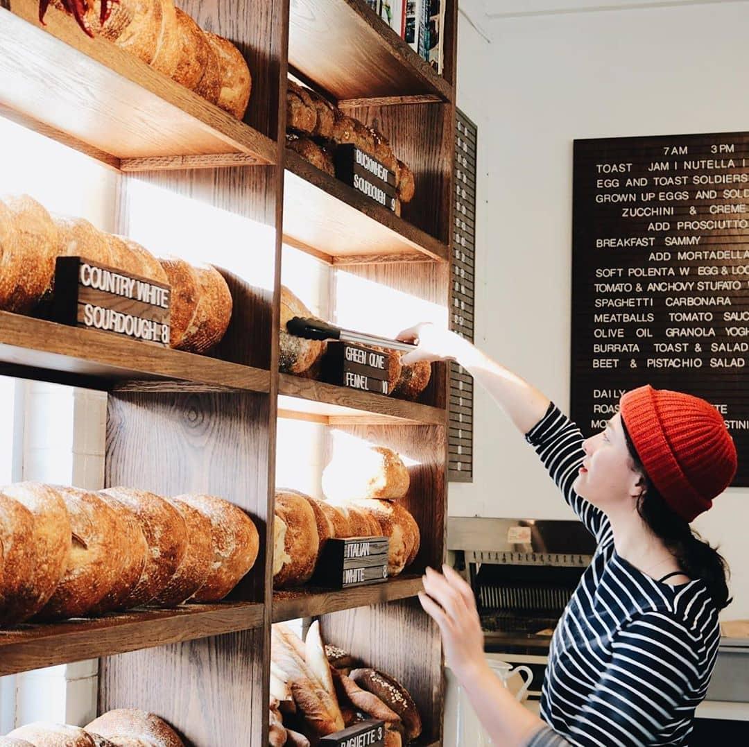 case of sourdough bread