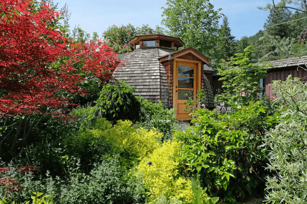 Best airbnb in B.C. custom dome dream catcher