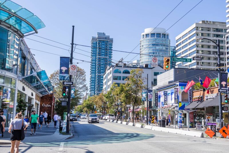Neighbourhood Guidebook robson street
