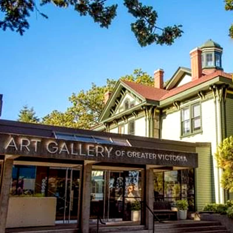 Victoria to Vancover Art gallery of greater victoria