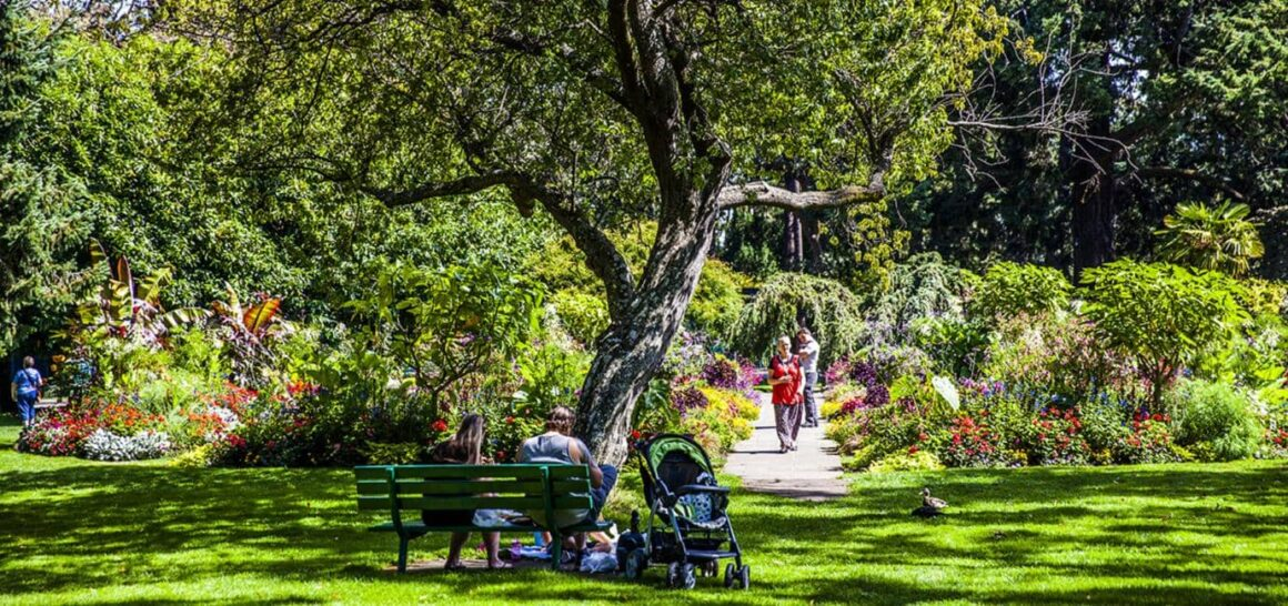 Victoria to Vancover beacon hill park