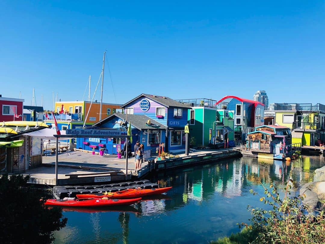 Victoria to Vancover inner harbour 1