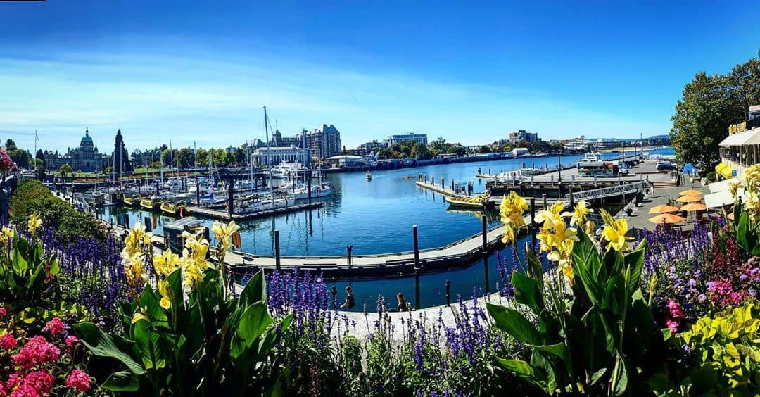 Victoria to Vancover inner harbour
