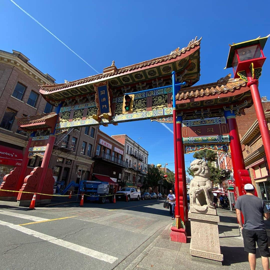 Victoria to Vancover victoria chinatown