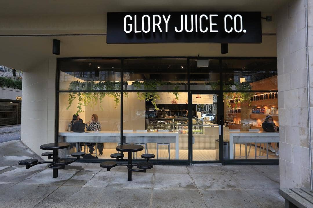 glory juice co exterior building