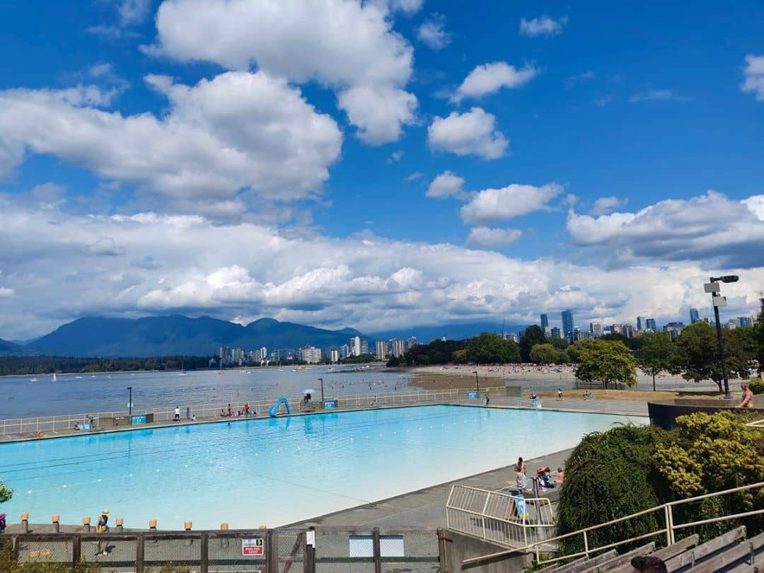 best beaches in vancouver kits pool