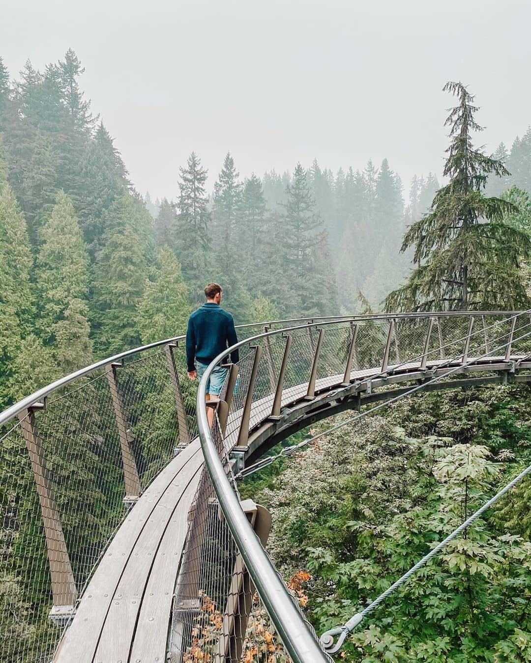 best places to visit around vancouver during summer capilano suspension bridge