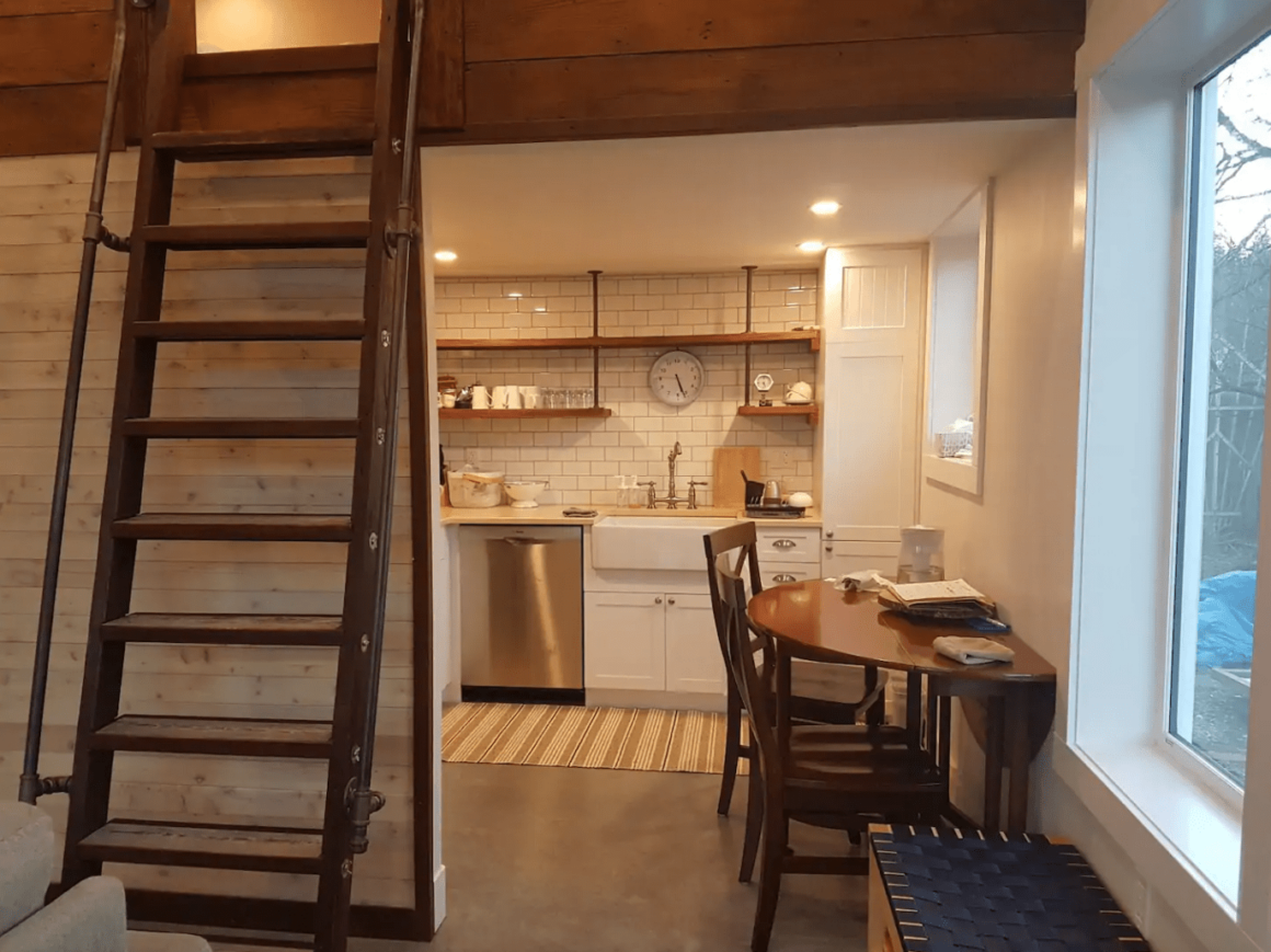 cool and best airbnbs in Victoria contempary loft from downtown