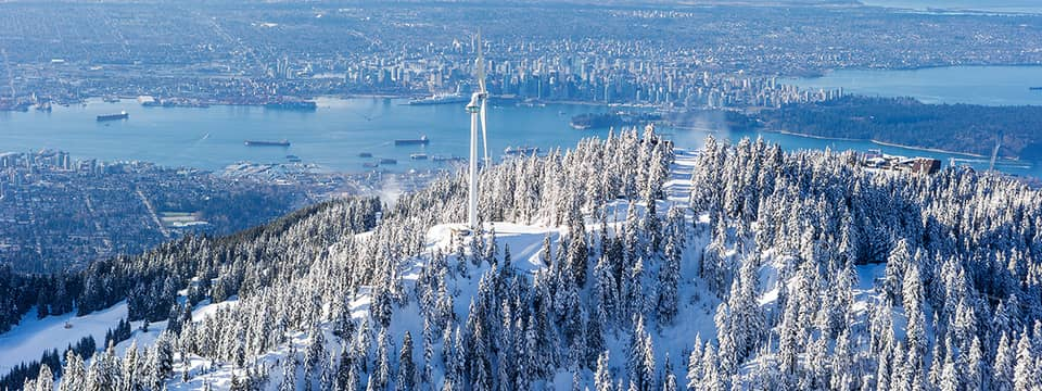 Grouse Mountain Guide eye of the wind