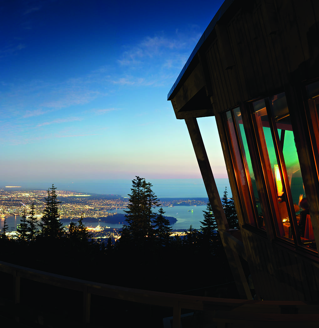 Grouse Mountain Guide observatory