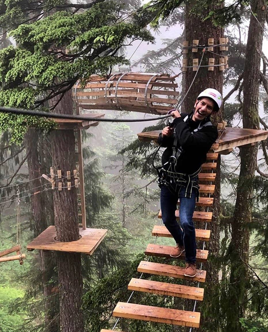 Grouse Mountain Guide tree activities