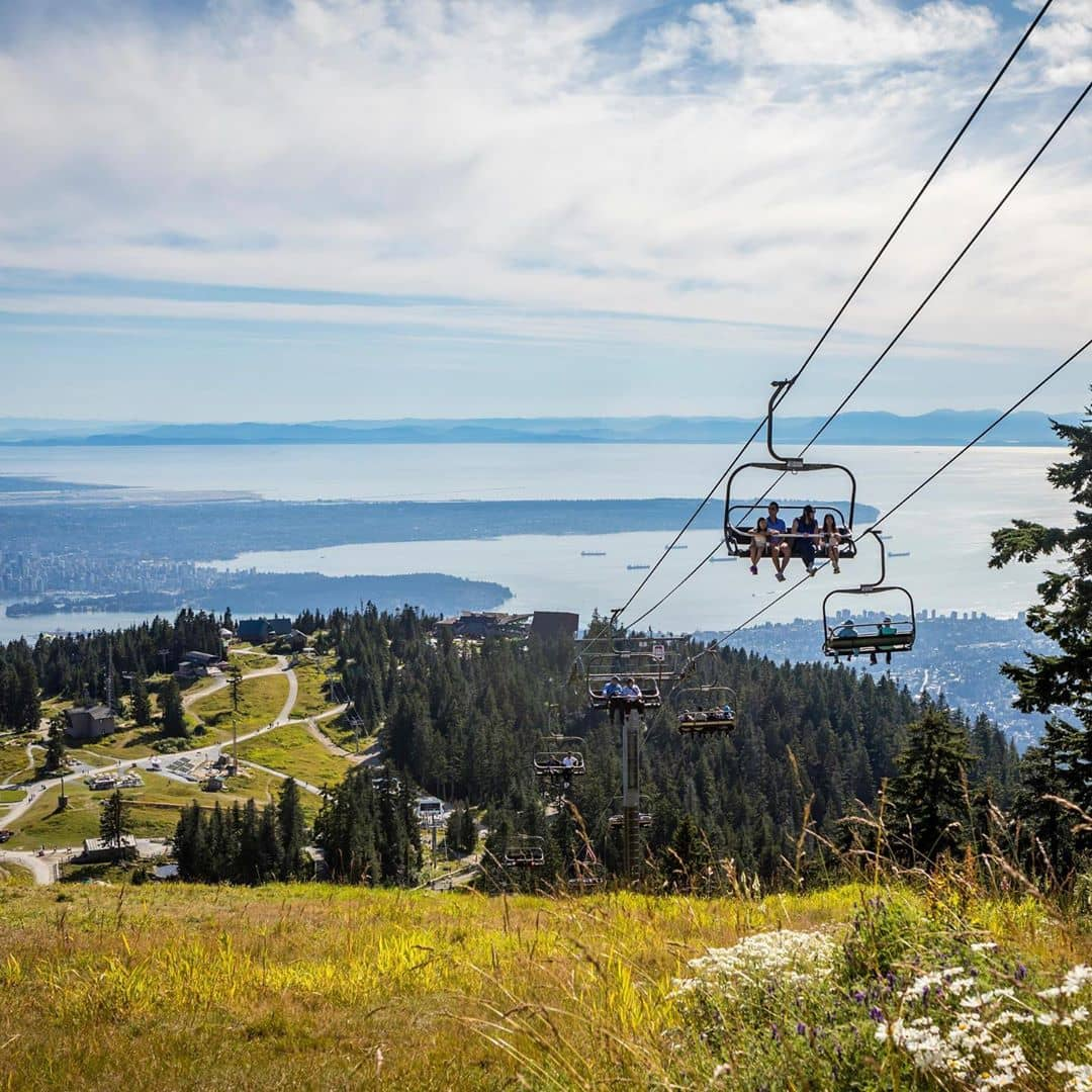 Grouse Mountain Guide view