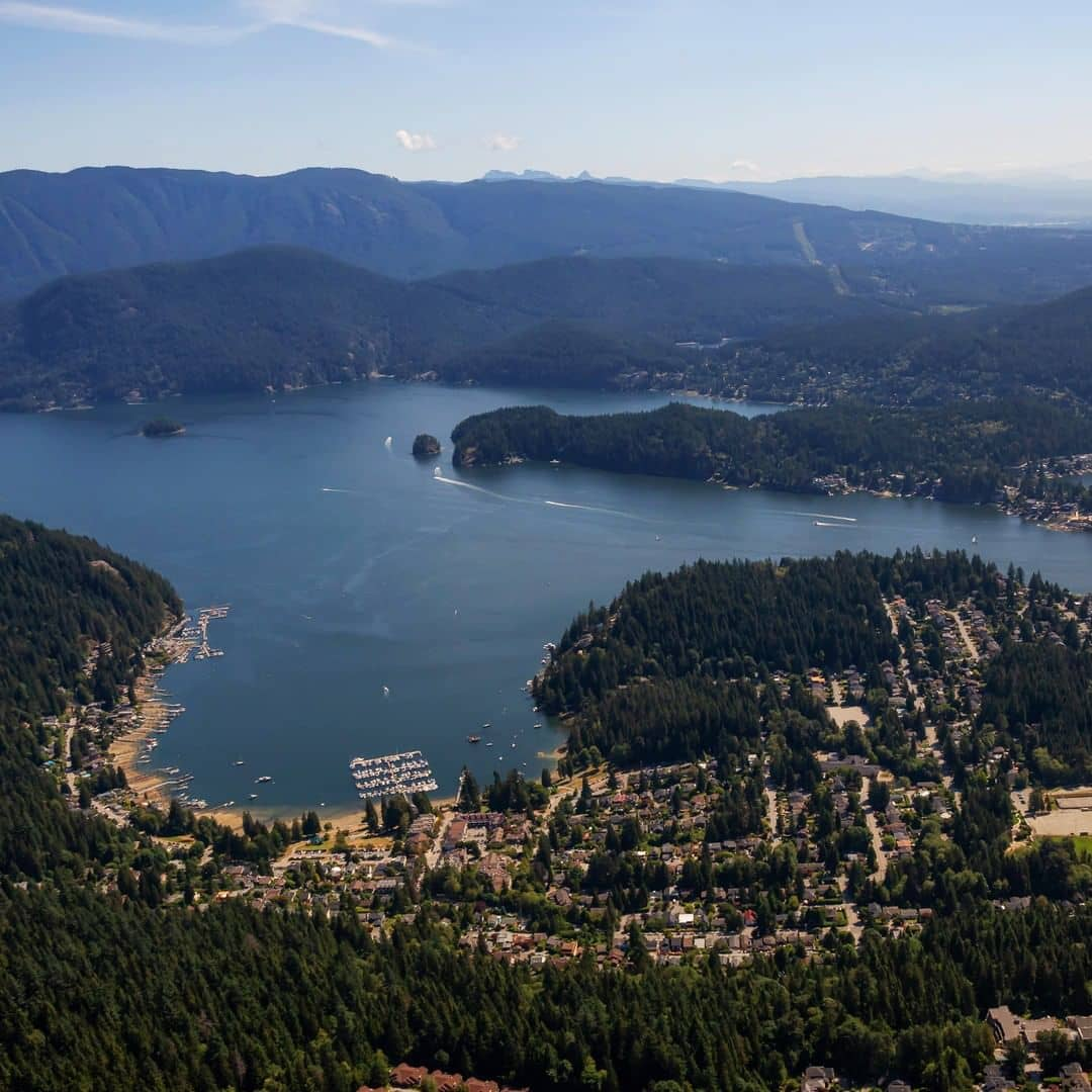 Places to visit around vancouver during spring deep cove