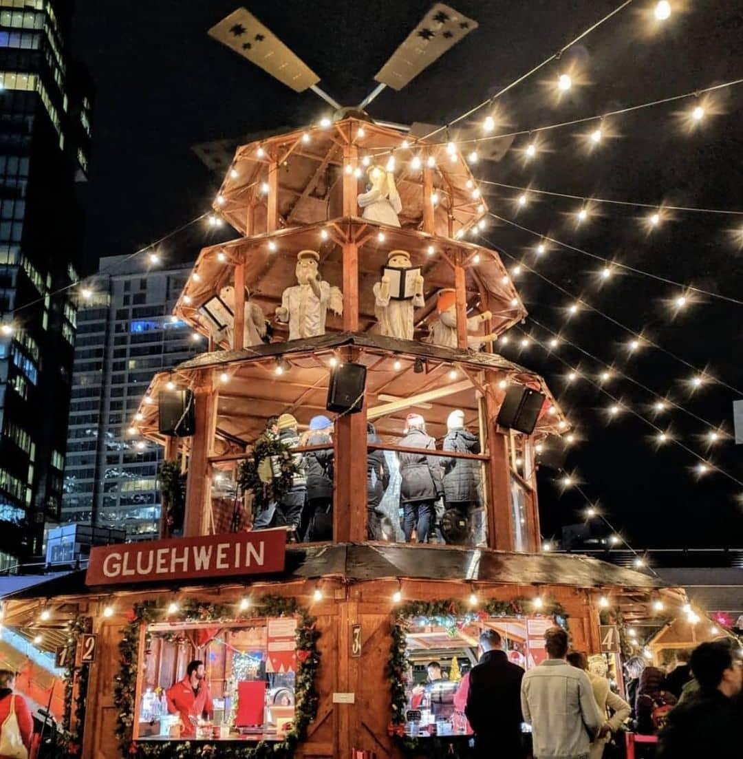 best activities in vancouver during winter christmas market