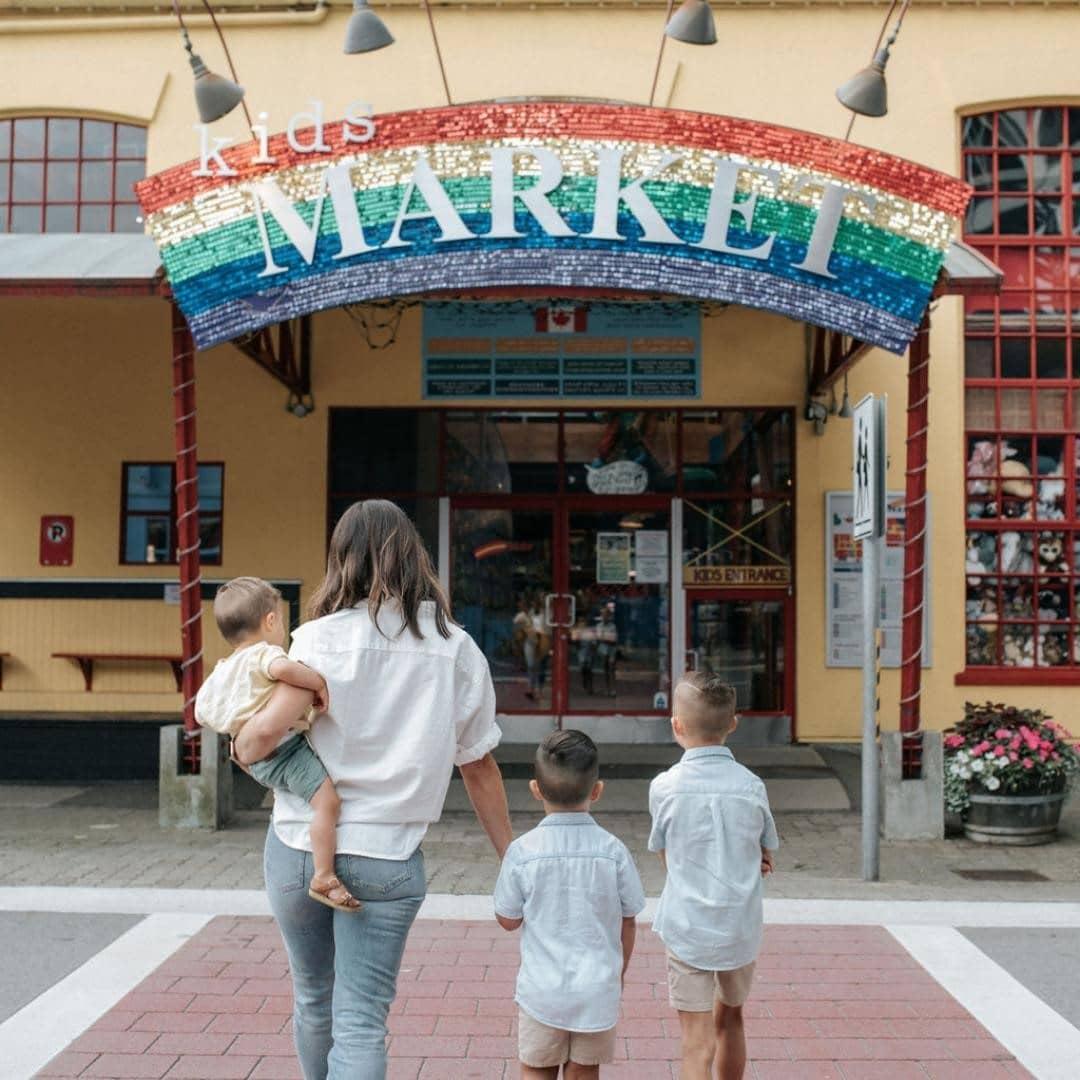 granville island neighbourhood guidebook kids market