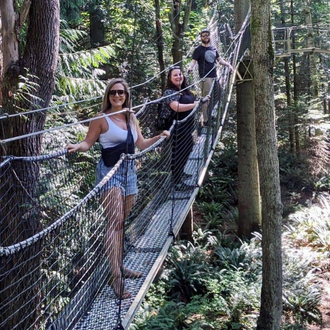 Vancouver hidden gems greenheart treewalk