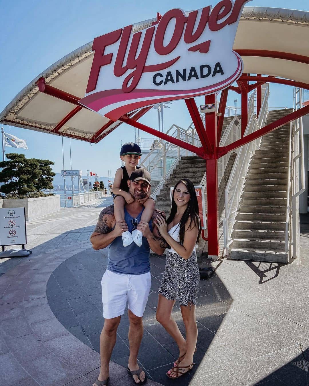 Vancouver kid friendly activities flyover canada
