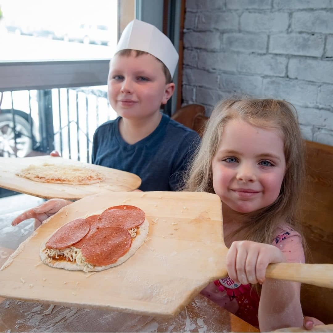 Vancouver kid friendly activities pizza making rocky mountain flatbread