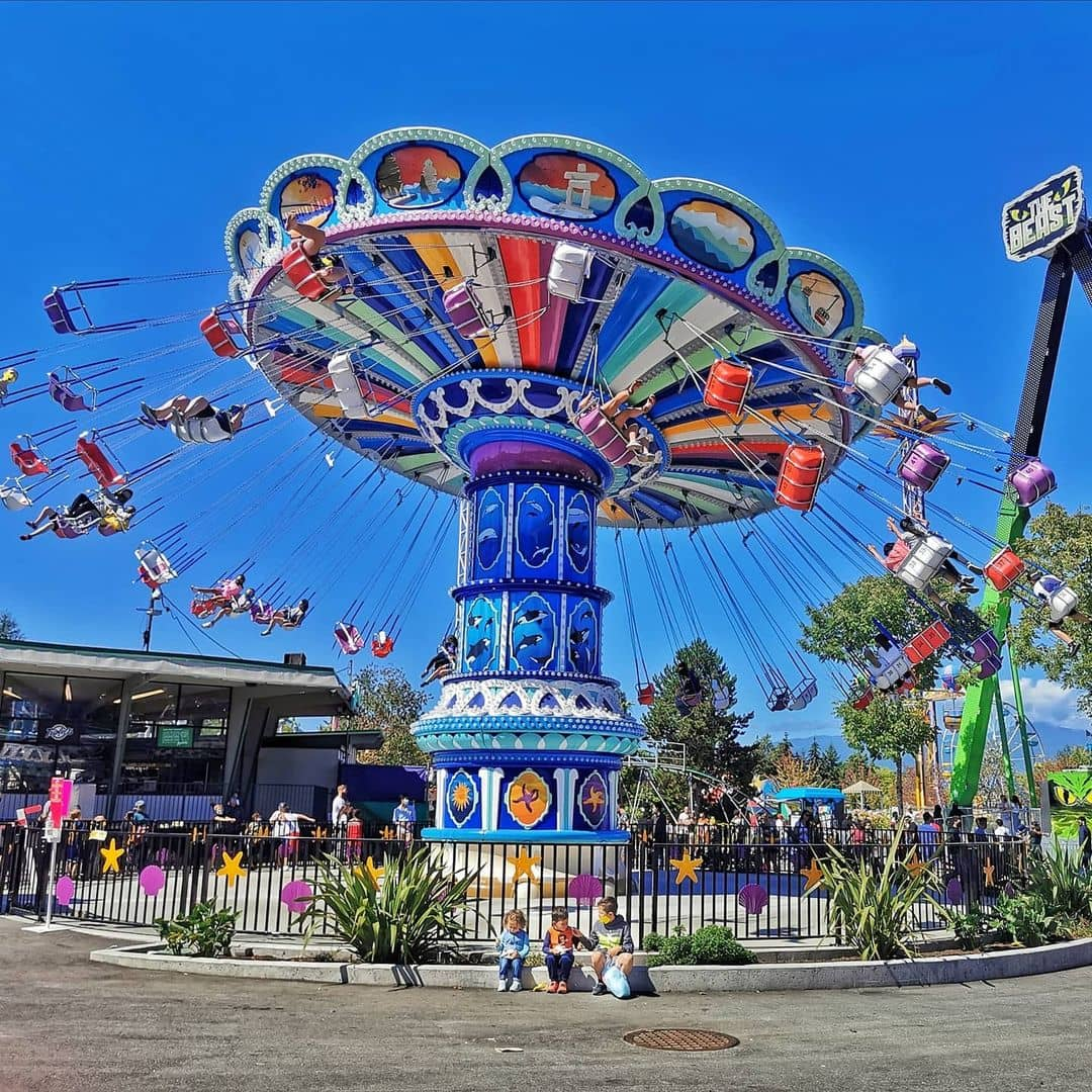 Vancouver kid friendly activities playland