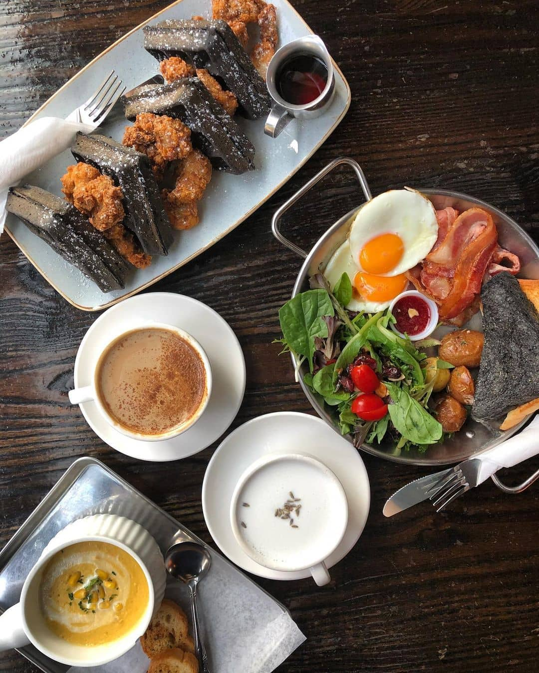 best coffee shops in vancouver cafe la foret