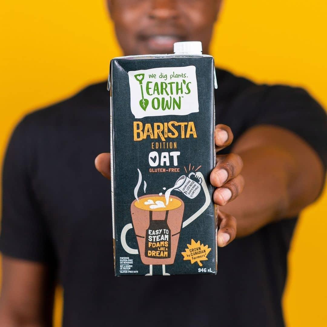 earths own barista oat milk
