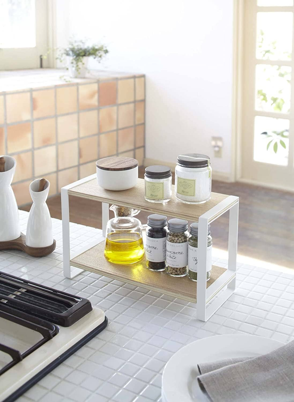 tiktok home items counter shelf