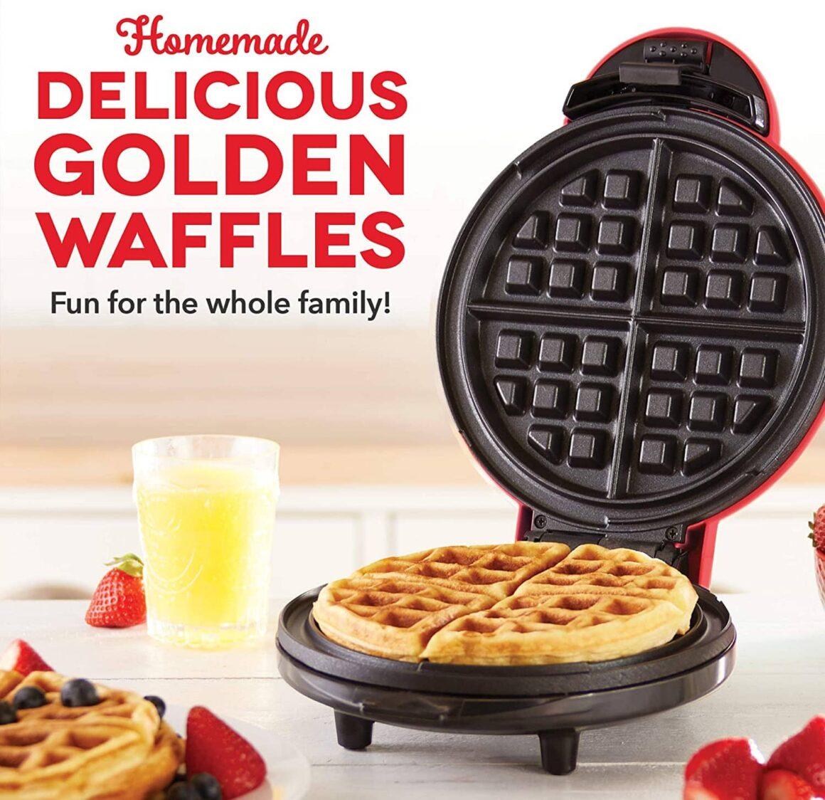 tiktok home items mini waffle maker