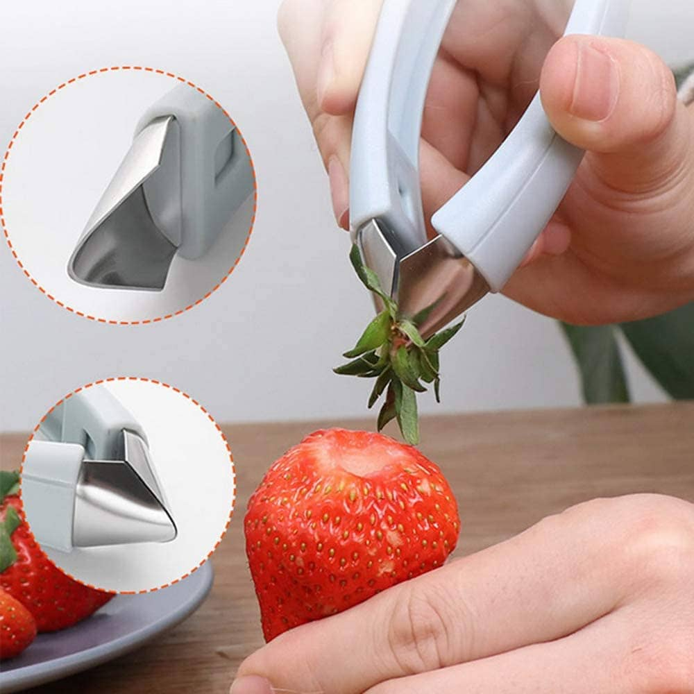 tiktok home items strawberry huller