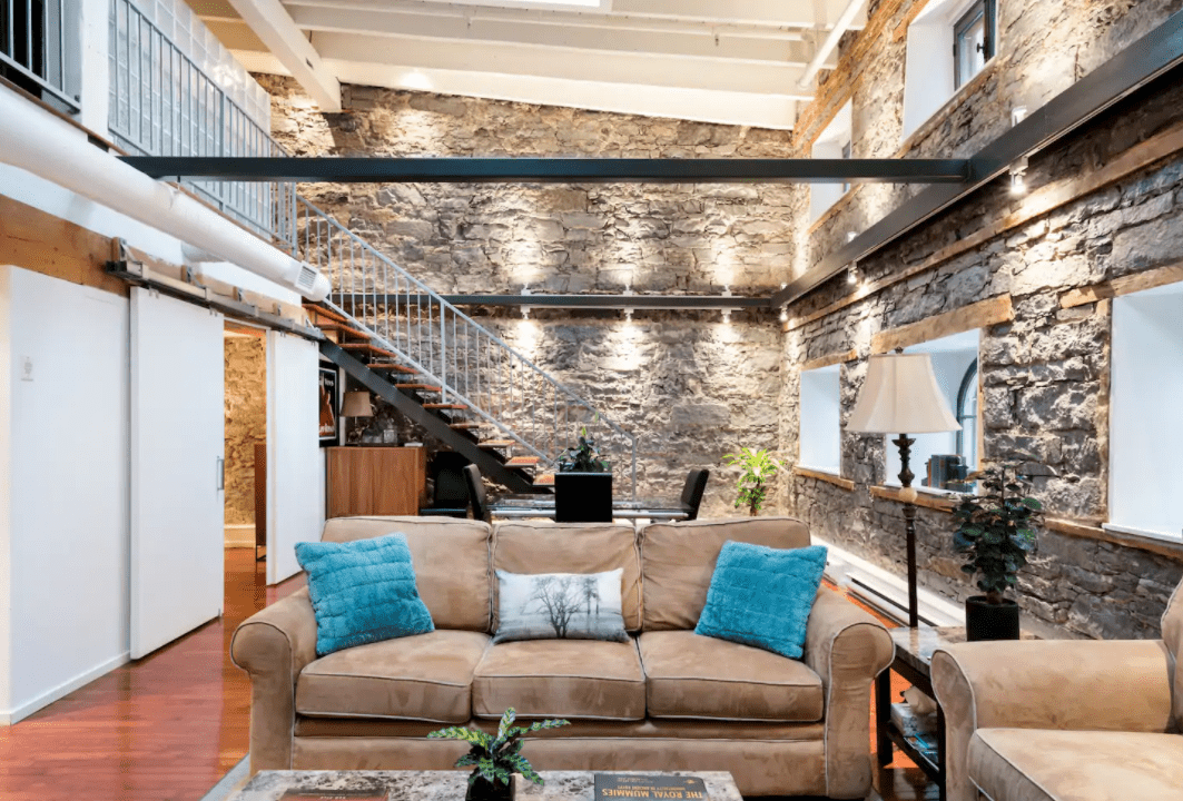 Cool montreal airbnb historic loft