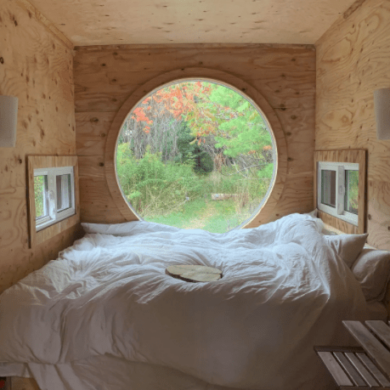 cool toronto airbnbs Rouge Valley National Park Cabin