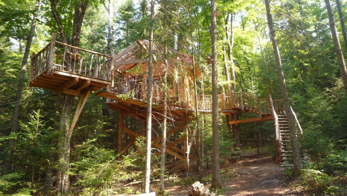 coolest airbnbs canada chalet perche