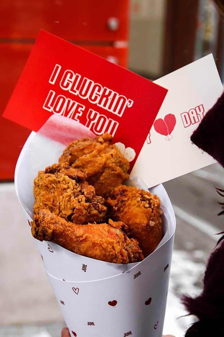 Juke Valentines FriedChickenBouquet 1