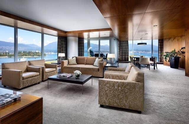 best hotels vancouver fairmont pacific rim