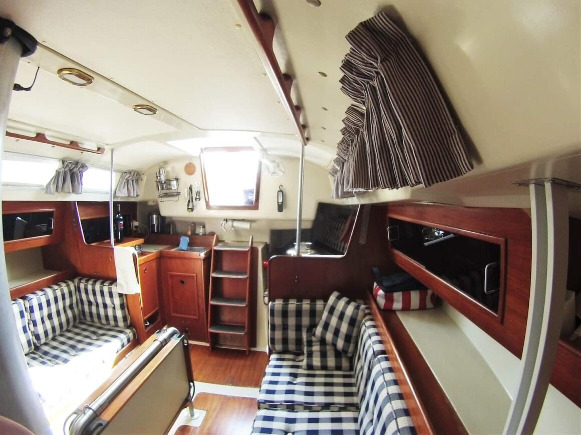 cool ontario airbnb Prince Edward Yacht Stay