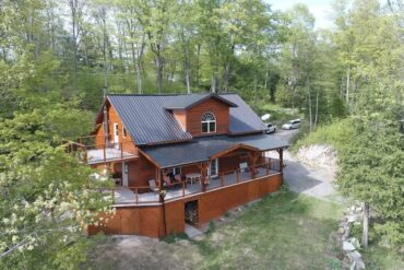 cool ontario airbnb The Frontenac A Curated Cabin Retreat with Sauna