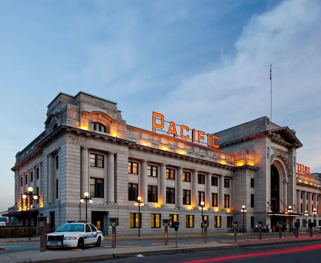 oldest vancouver buidlings Pacific central station